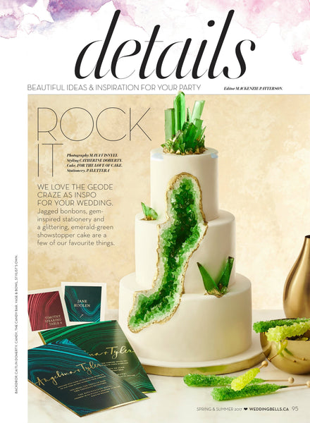 Wedding Bells Magazine Layout