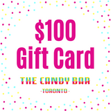 $100 Digital Gift card for The Candy Bar