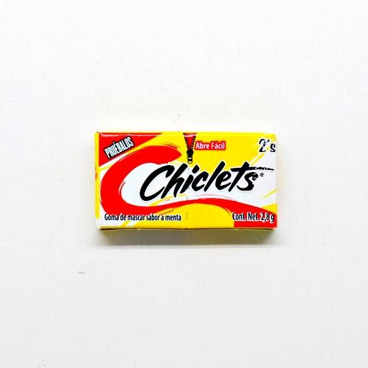 Chiclets at The Candy Bar
