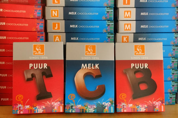 DeHeer Chocolate Letters