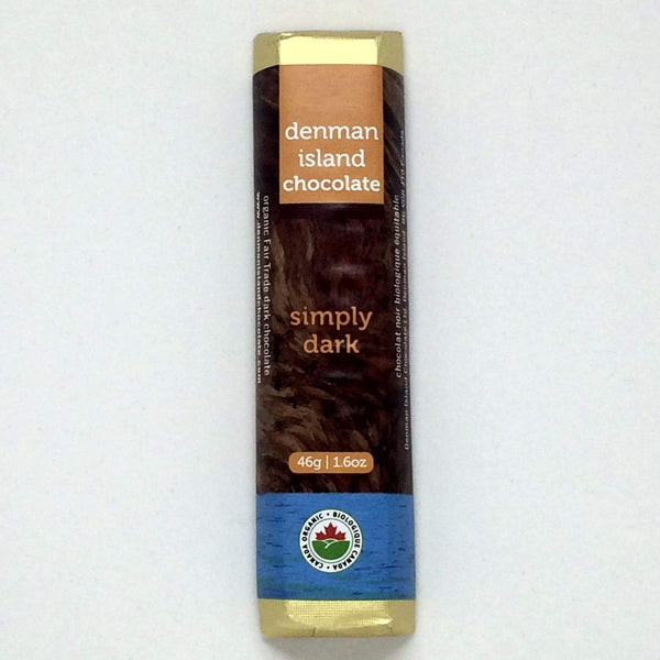 Denman Island Chocolate Simply Dark