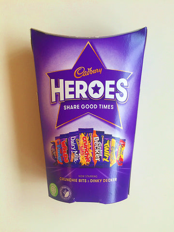 Cadbury Heroes Tub at The Candy Bar