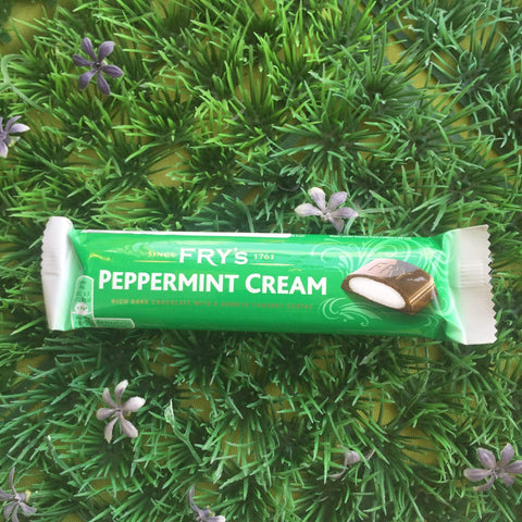 Fry's Peppermint Cream Chocolate Bar