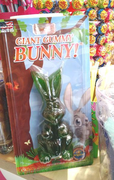 Giant Gummy Bunny