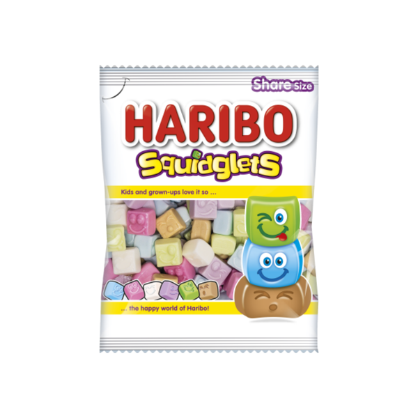 Haribo Squidglets at The Candy Bar Toronto