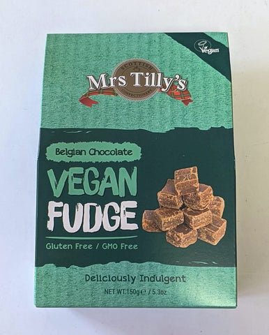 Mrs Tilly Vegan Fudge Belgian Chocolate at The Candy Bar Toronto