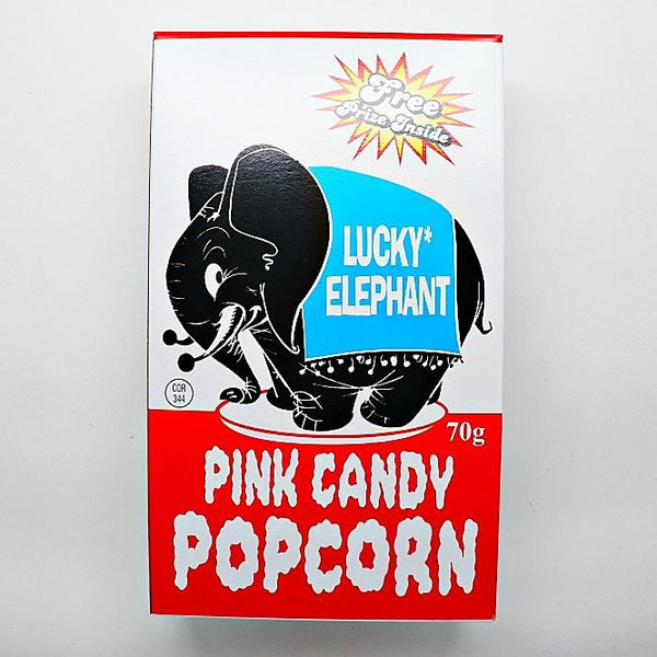 Lucky-Elephant-Pink-Candy-Popcorn at The Candy Bar