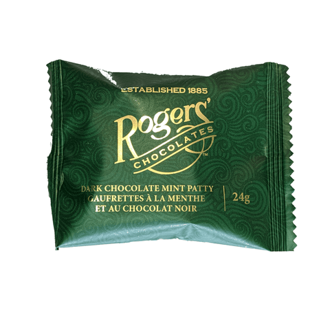 Rogers Chocolate Dark Chocolate Mint Patties at The Candy Bar
