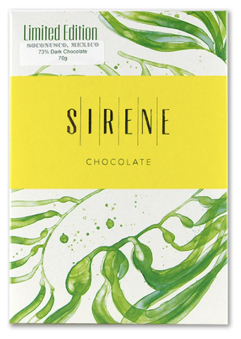 Sirene Chocolate Limited Edition Soconusco, Mexico 73% Dark at The Candy Bar Toronto