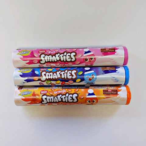Smarties Tubes at The Candy Bar