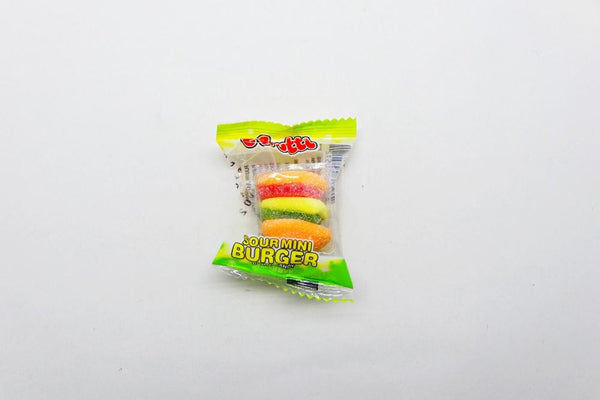 Gummi-Burger at The Candy Bar