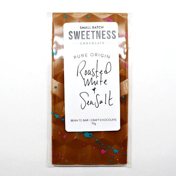 Sweetness-Roasted-White-+-Sea-Salt-Bar at The Candy Bar