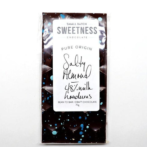 Sweetness-Salty-Almond-Bar at The Candy Bar