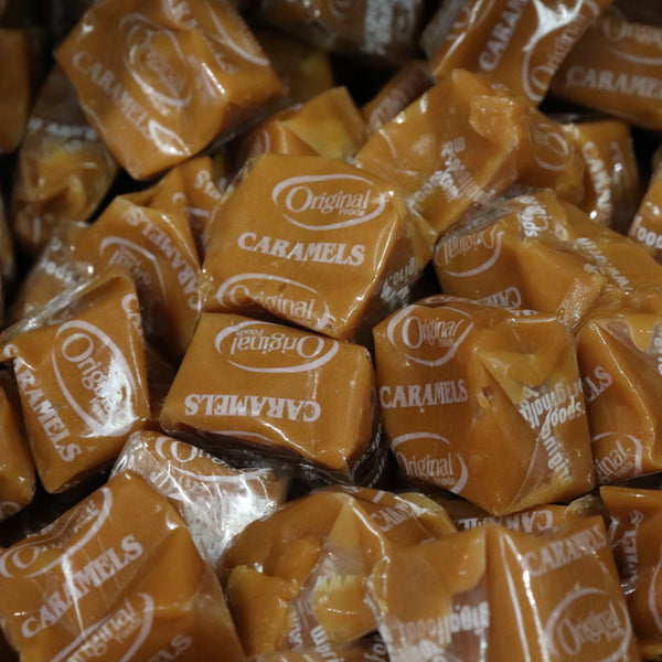 Vanilla Caramels - Pick'n'Mix - The Candy Bar Toronto