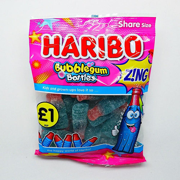Haribo-Bubblegum-Bottles at The Candy Bar