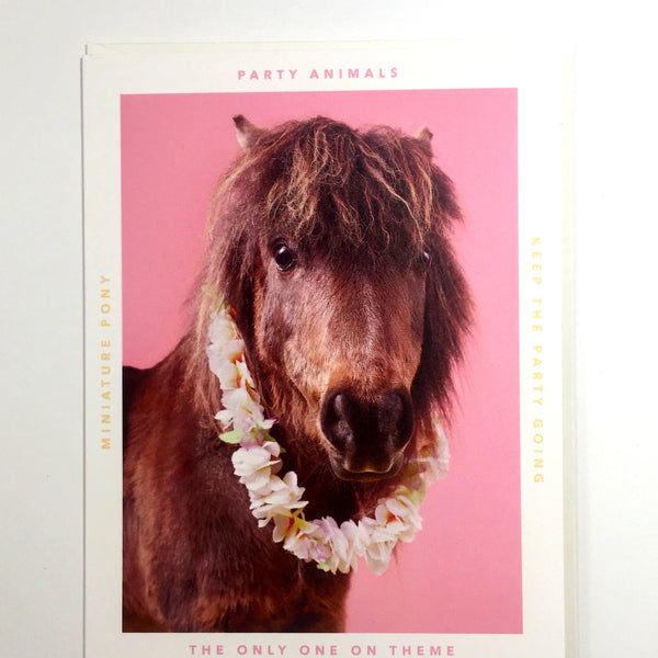 Party Animal Card - The Munchies - Katherine Holland