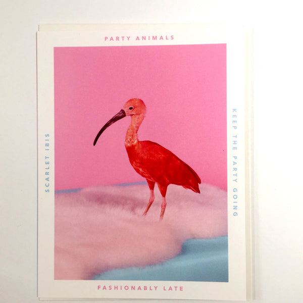 Party Animal Card - Fashionably Late - Katherine Holland