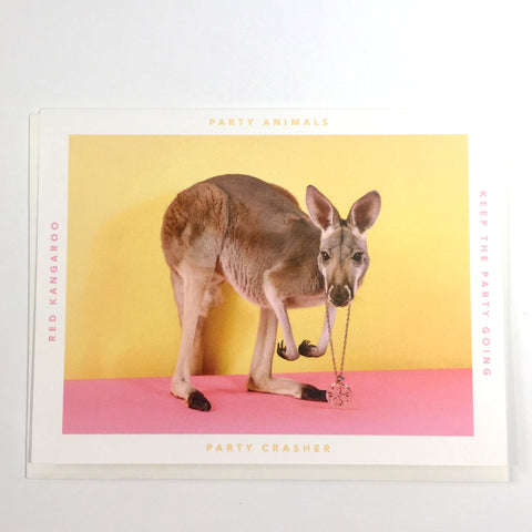 Party Animal Card - Party Crasher - Katherine Holland