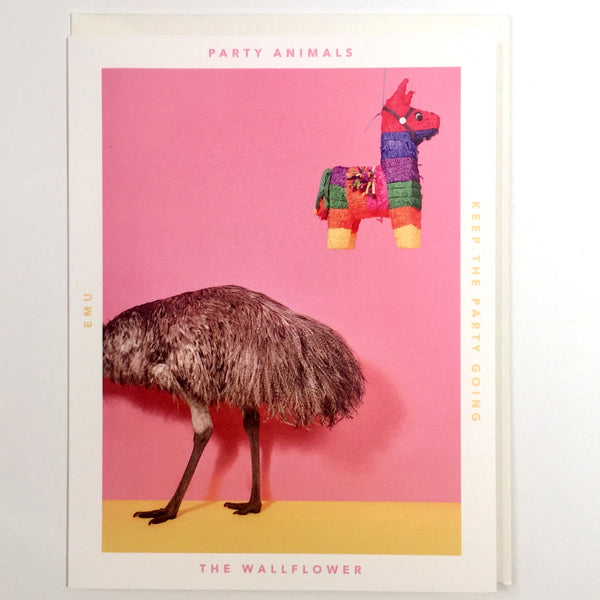 Party Animal Card - The Wallflower - Katherine Holland
