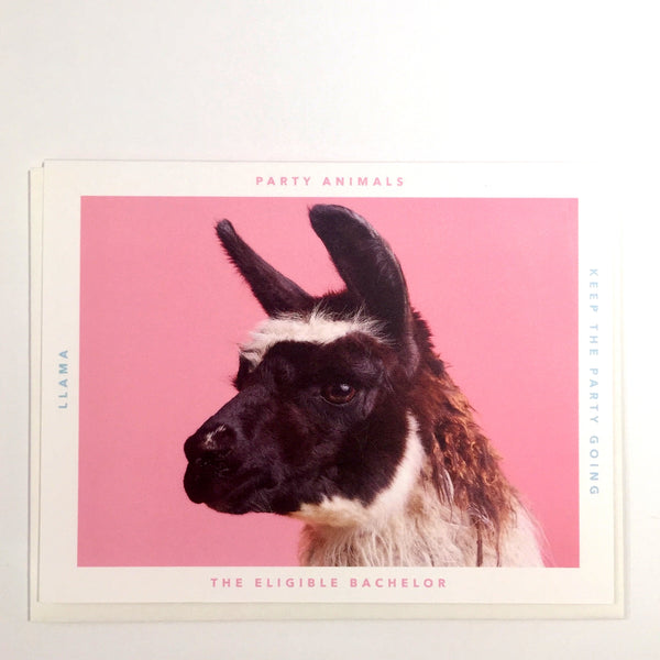 Party Animal Card - The Eligible Bachelor - Katherine Holland