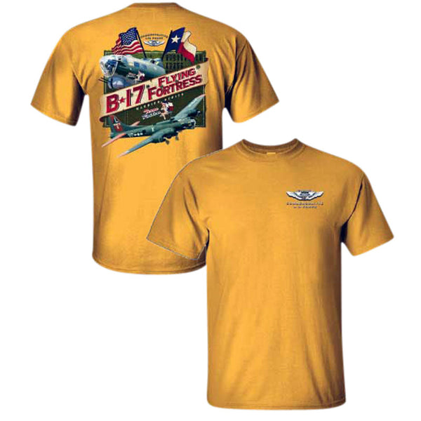 B-17 Texas Raiders Youth T-Shirt - CAF Gift Shop