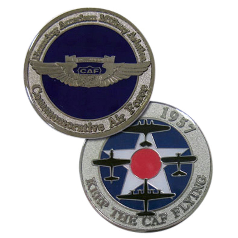 CAF Challenge Coin