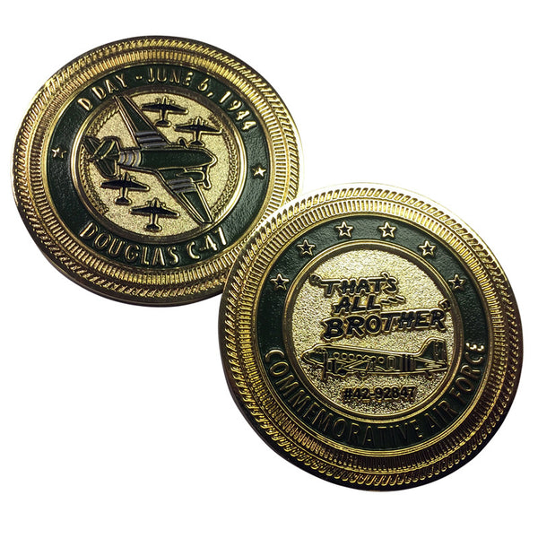 C-47 That's All Brother Challenge Coin - CAF Gift Shop