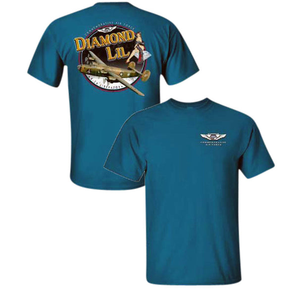 B-24 Liberator Diamond Lil T-Shirt - CAF Gift Shop