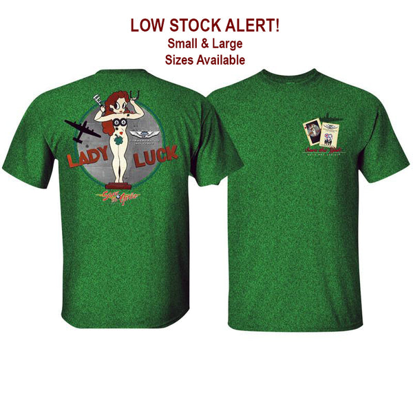 Lady Luck™ Nose Art T-Shirt *CLOSEOUT*