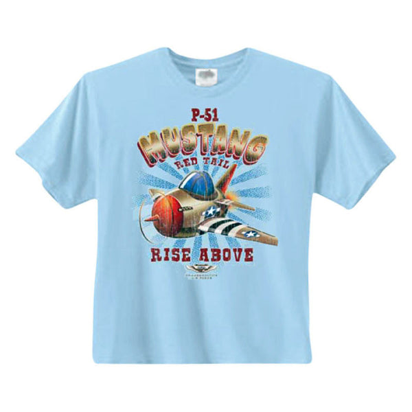 Red Tail Mustang Youth T-Shirt - CAF Gift Shop