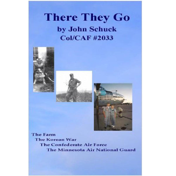 There They Go Book - signed - CAF Gift Shop