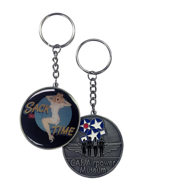 Nose Art Keychain - CAF Gift Shop - 2