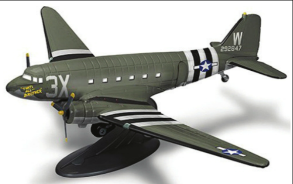 "D-Day C-47 ""That's All, Brother"" Model"