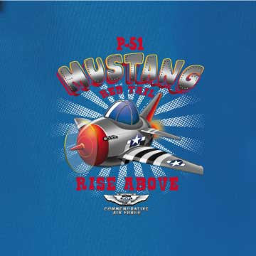 Mustang Backpack - CAF Gift Shop - 2