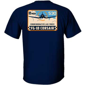 Mighty Corsair T-Shirt - CAF Gift Shop - 2