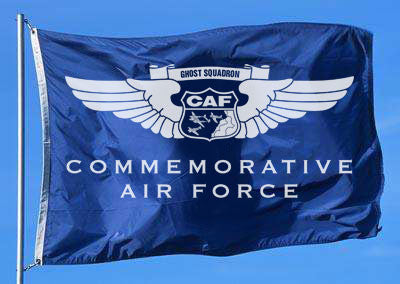 Commemorative Air Force Flag - 2' x 3'