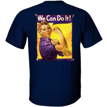 Rosie the Riveter T-Shirt - CAF Gift Shop - 3