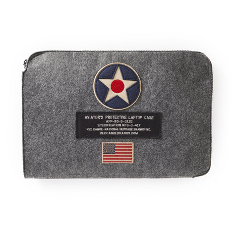 Red Canoe US Roundel Laptop Case