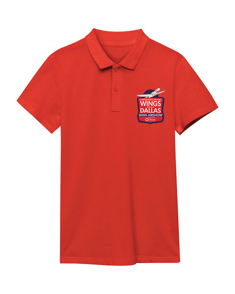 Wings Over Dallas Mens Polo Shirt