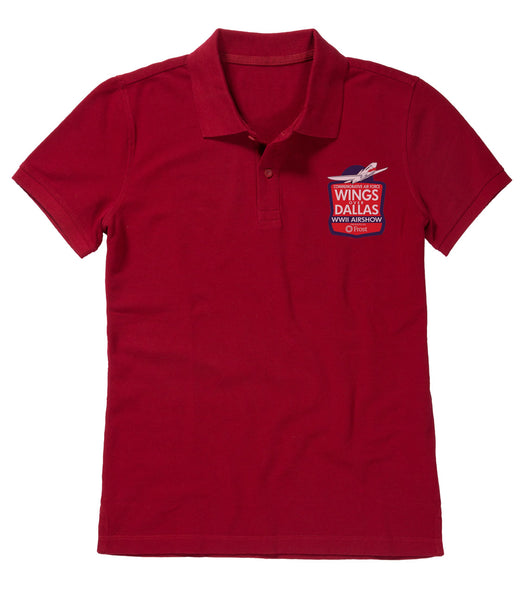 Wings Over Dallas Womens Polo Shirt