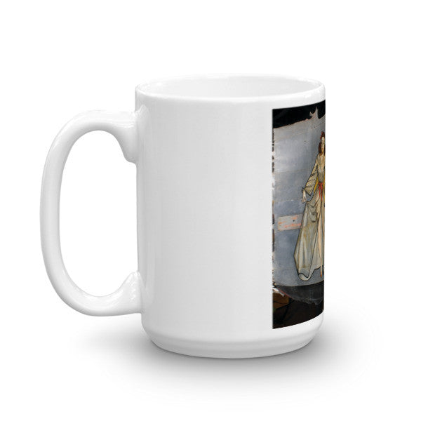 """Squeeze"" CAF Nose Art Mug - CAF Gift Shop - 6"