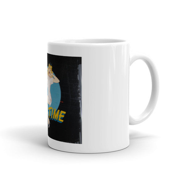 """Sack Time"" CAF Nose Art Mug - CAF Gift Shop - 2"