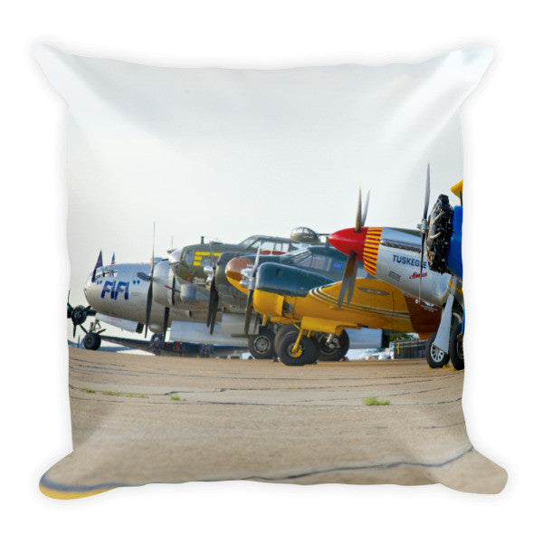 CAF Logo Pillow - CAF Gift Shop - 1