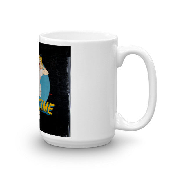 """Sack Time"" CAF Nose Art Mug - CAF Gift Shop - 5"