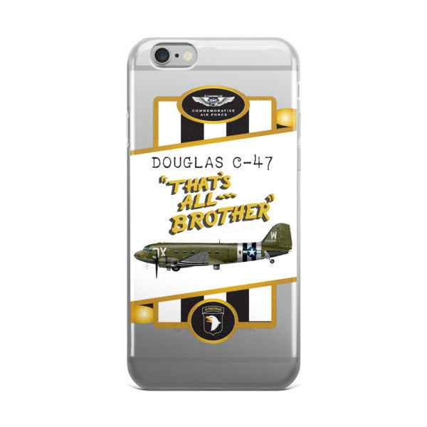 "C-47 ""That's All, Brother"" iPhone case - CAF Gift Shop - 2"