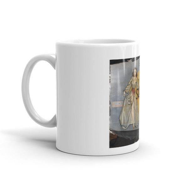 """Squeeze"" CAF Nose Art Mug - CAF Gift Shop - 3"