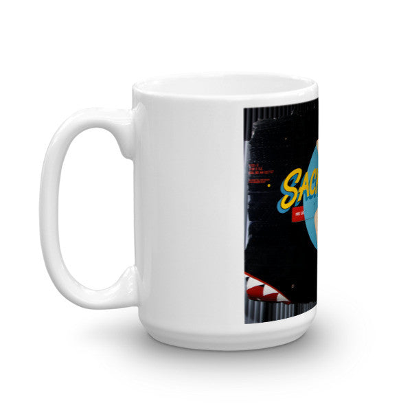 """Sack Time"" CAF Nose Art Mug - CAF Gift Shop - 6"