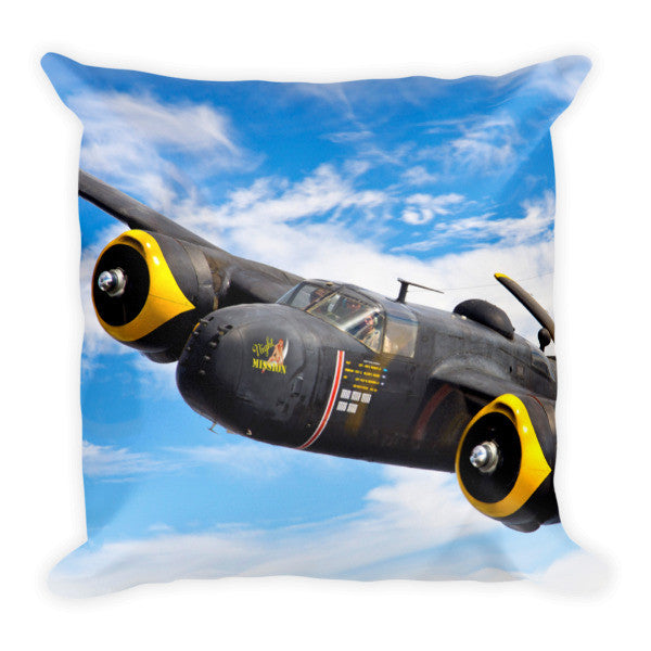 "A-26 ""Night Mission"" Pillow - CAF Gift Shop - 1"