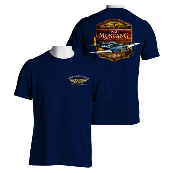 P-51 Mustang Gunfighter T-Shirt