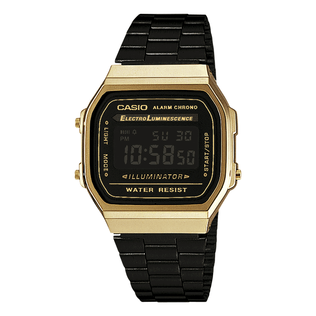 CASIO Montre Vintage Digital en Acier